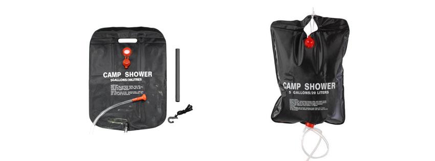 Coghlan's Camp ShowerTopix 5 Gallon Solar Outdoor Summer Camp Shower