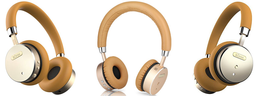 BÖHM Wireless Bluetooth Headphones with Active Cancelling