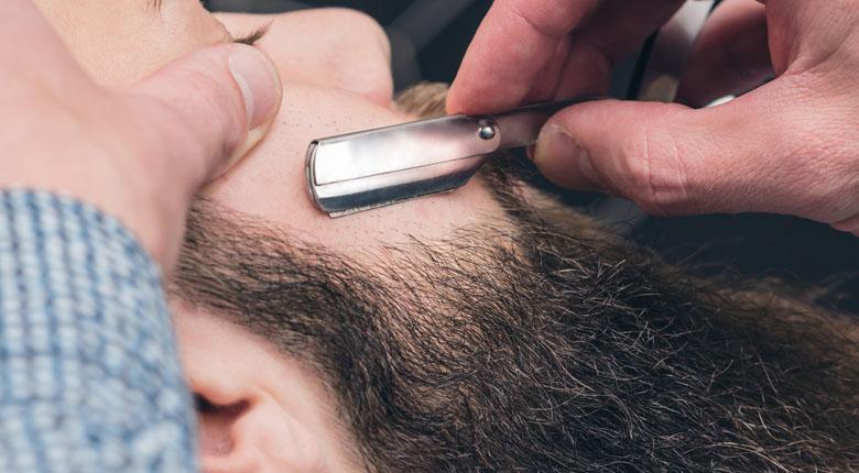 beard shaving line to take care