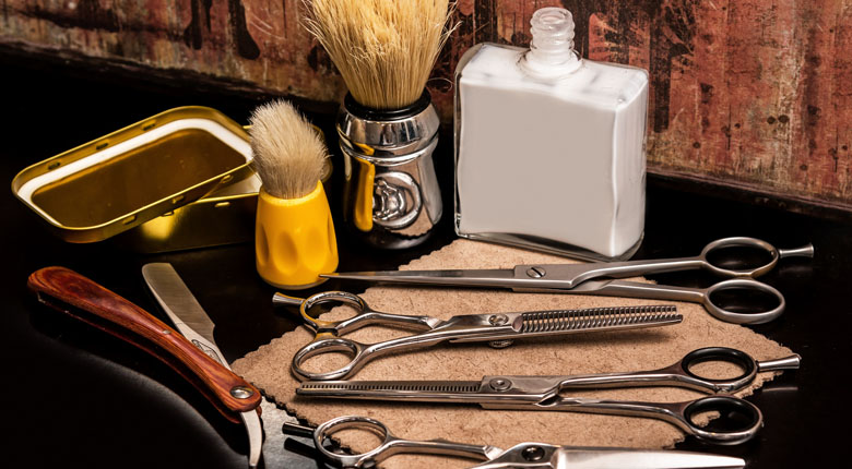 beard accessories and tools