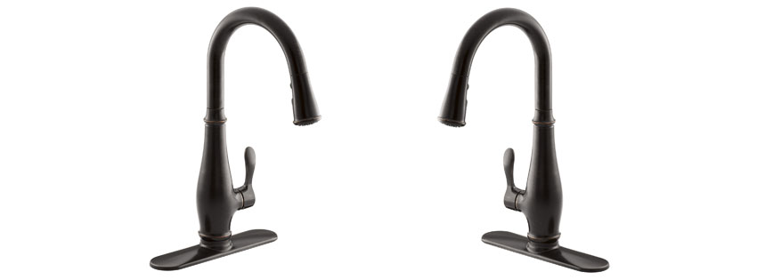 kohler purist pullout faucet polished spray k out images chrome pull cp kitchen