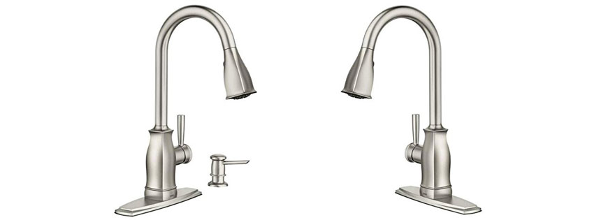 Hensley Single-Handle Pull-Down Sprayer Faucet