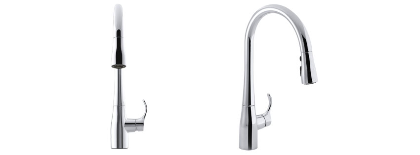 Kohler Simplice Single-Handle Pull-Down Faucet