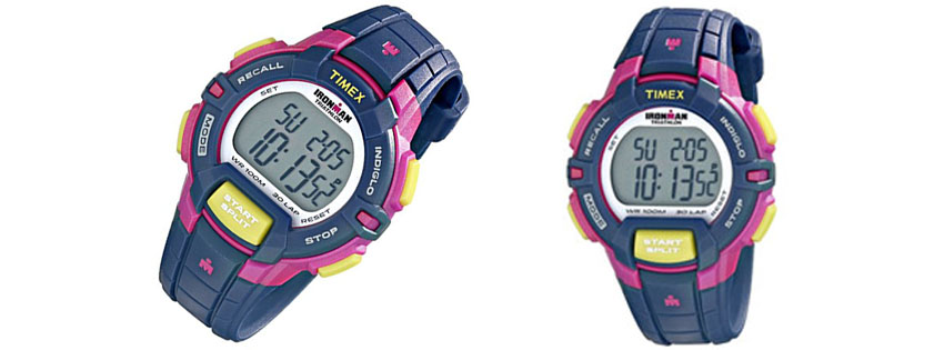 Timex Womens Ironman Blue Digital Display Watch