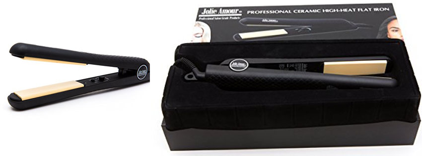 Professional Flat Iron by Jolie Amour Salon Grade Hair Straightener