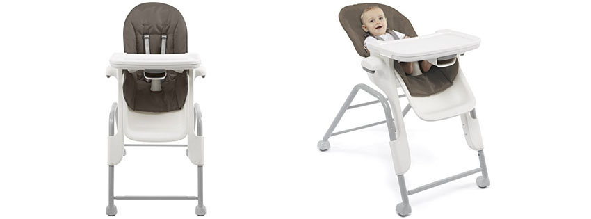 Best Abiie Beyond Wooden High Chair with Tray