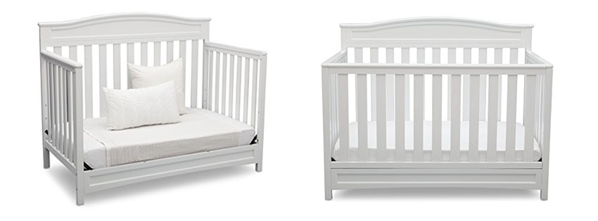 Stork Craft Davenport Convertible Crib with Drawer