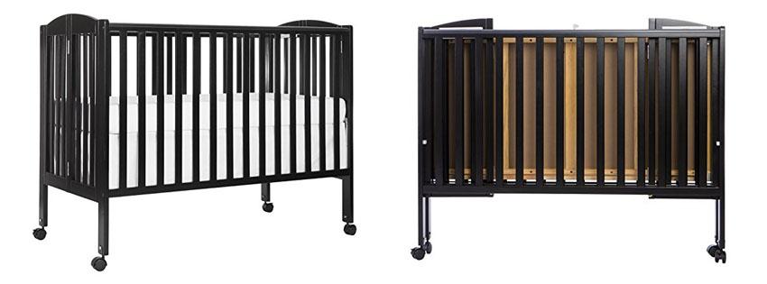 LA Baby Little Wood Crib