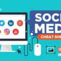 Social Media Cheat Sheet (Image Sizes) 2017
