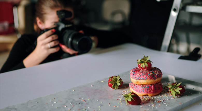 Studio Food Photography