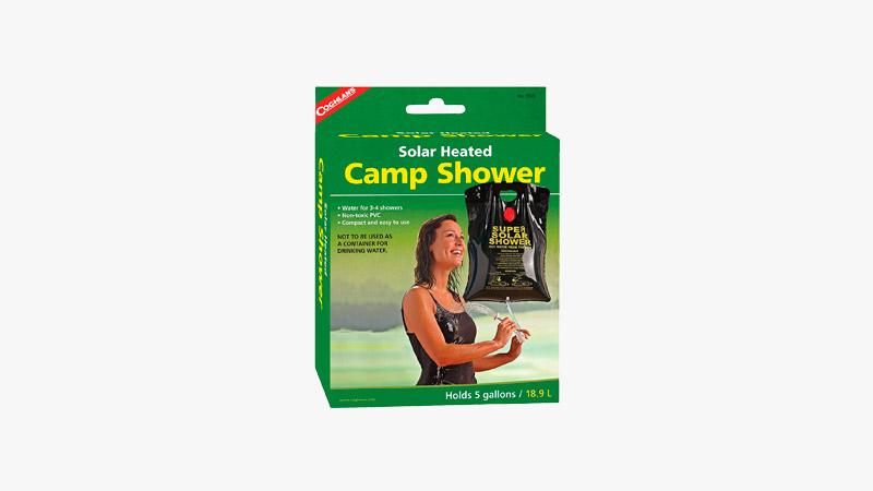 Coghlan's Solar Heated Camp Shower