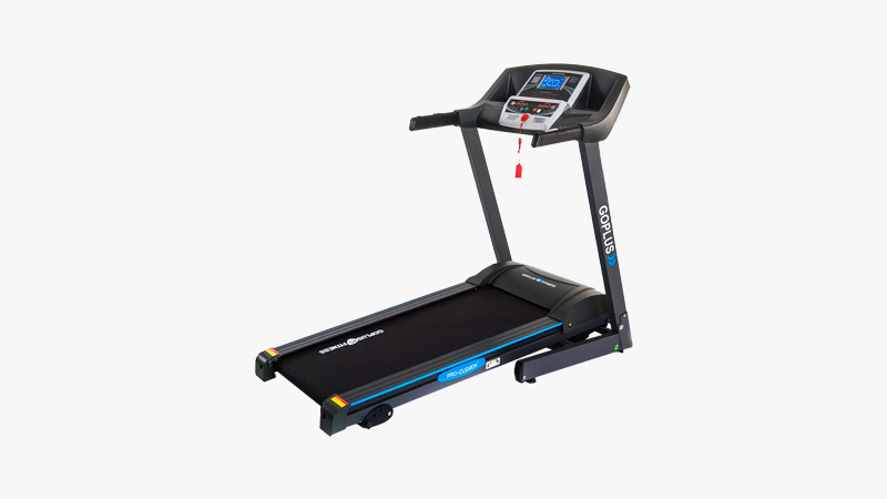 Goplus Folding Treadmill Electric Support Motorized Power