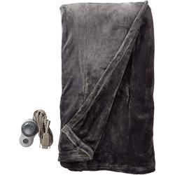 Sunbeam Velvet Plush Heated Electric Blanket