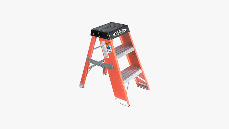 Werner Step Stand Stool