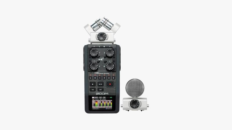 Zoom H6 Portable Recorder Kit