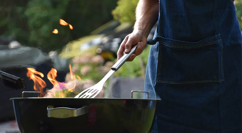 BBQ grill for outdoors