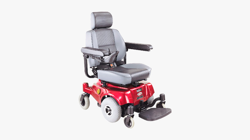 CTM Compact Mid-Wheel Power Chair