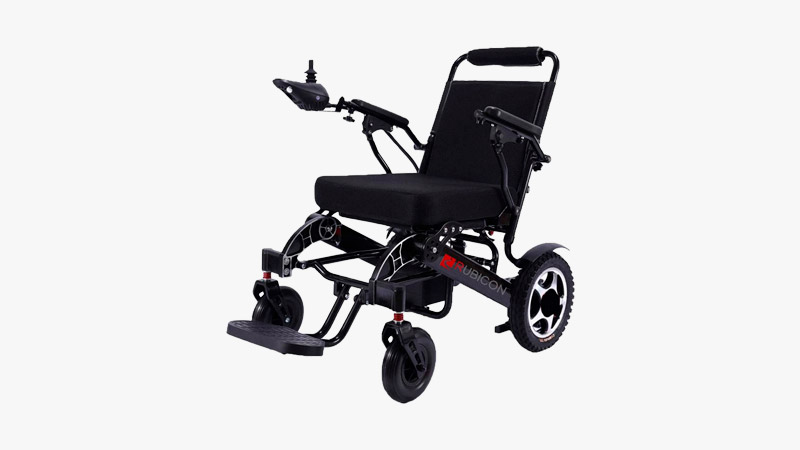 ComfyGO Electric Power Foldable Wheelchair