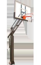 First Team Triple Threat Basketball Hoop