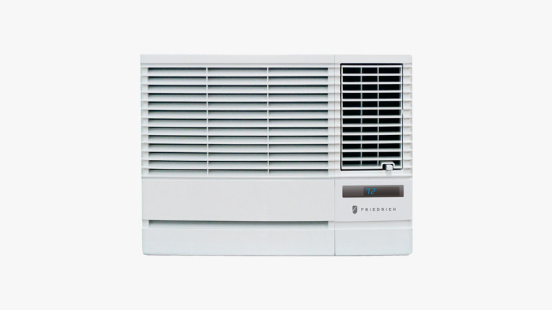 Friedrich Chill Series EP12G33B Window Air Conditioner with Electric Heater