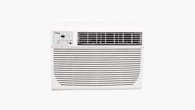 Koldfront WAC12001W 12,000 BTU 208/230V Heat/Cool Window