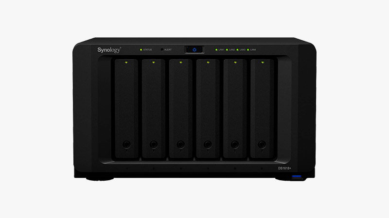 Synology 6 Bay NAS DiskStation - DS1618+