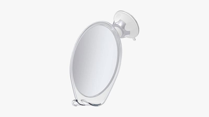 HoneyBull Fogless Shower Mirror for Shaving