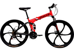 Macce Adult Folding Mountain Bike