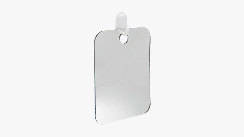 The Shave Well Company Deluxe Fog-free Shower Mirror