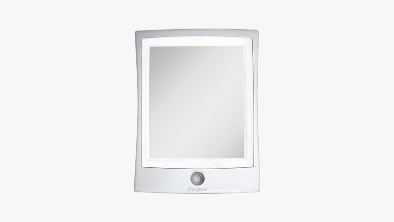 Zadro Products ZWTAR20S Rechargeable LED Lighted Fogless Shower Shaving Mirror